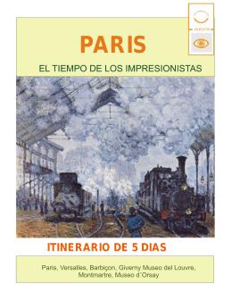 PARIS IMPRESIONISTAS