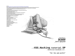 .:XSS_Hacking_tutorial_SP - XSSer