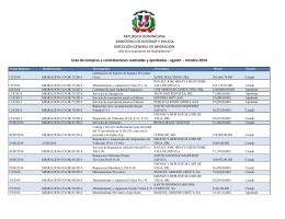 octubre 2014 - Dirección General de Migración