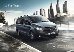 Catálogo Vito Tourer - Galería de catálogos Mercedes-Benz