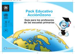 Pack educativo Acción Ozono - Ministerio del Medio Ambiente
