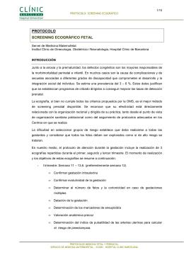 Screening Ecográfico - medicinafetalbarcelona