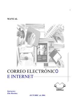 correo electrónico e internet - al Consejo de Computación Académica