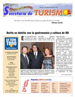 Boletín Informativo 17/04/2009