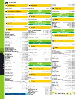OCAÑA 192 GUIA HOTELERA - Paginas Amarillas de Latinoamérica