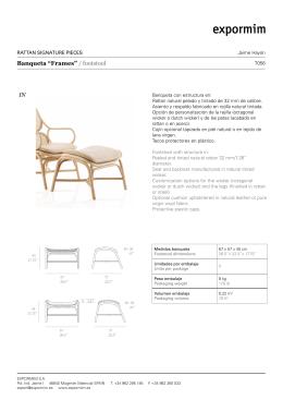 "Banqueta ""Frames"" / footstool IN"