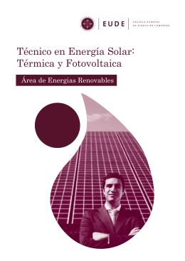 Técnico en Energía Solar: Térmica y Fotovoltaica