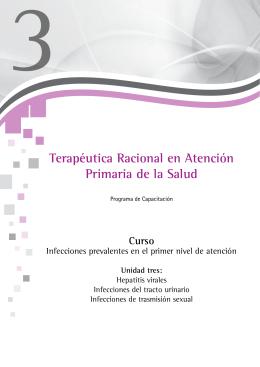 Terapéutica Racional en Atención Primaria de la Salud