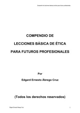 LIBRO COMPLETO DE ETICA