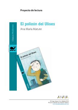 El polizón del Ulises. Proyecto de lectura