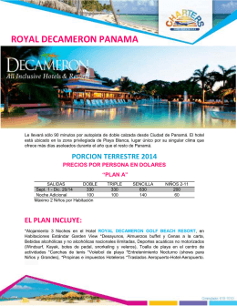 ROYAL DECAMERON PANAMA