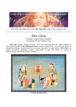 Devi Gita - Shri Yoga Devi