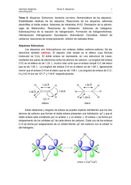 Alquenos - Grupo de Sintesis Organica Universidad Jaume I