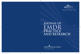 Journal of EMDR Practice and Research