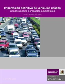 Importación definitiva de vehículos automotores usados