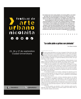 FAUN 2013 - Gaceta Nicolaita - Universidad Michoacana de San