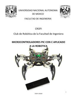 CROFI Club de Robótica de la Facultad de Ingeniera