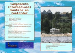 Campamento Nautico Internacional Santander