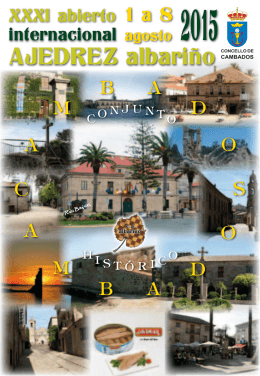 PDF. Revista Xadrez Albariño