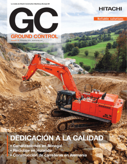 dedicación a la calidad - Hitachi Construction Machinery Europe