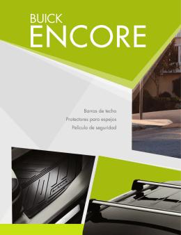 Catálogo de accesorios Buick Encore 2015