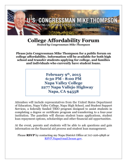 College Affordability Forum