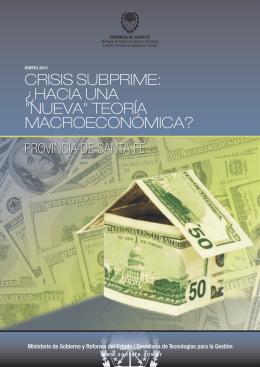 """Crisis Subprime: ¿hacia una """"nueva"""" teoría"""