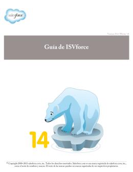 Guía de ISVforce