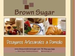 Desayunos Artesanales a Domicilio