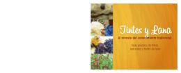 Guía práctica de tintes naturales y fieltro de lana