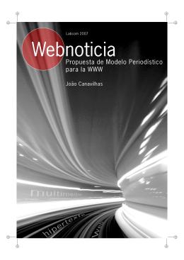 Webnoticia: propuesta de modelo periodístico para