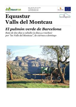 Equustur Valls del Montcau