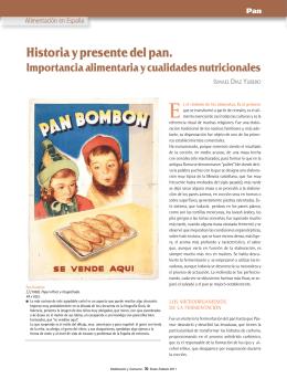 Historia y presente del pan.