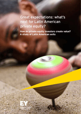 Great expectations: what`s next for Latin American