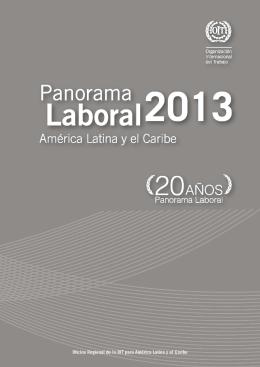 Panorama Laboral 2013 - América Latina y el Caribe  pdf