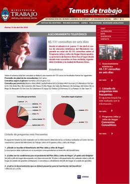 Nº 04 - Ministerio de Trabajo, Empleo y Seguridad Social