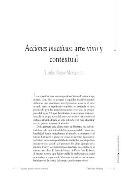 arte vivo y contextual - Universidad Autónoma del Estado de México