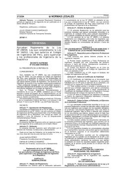 Reglamento de la Ley No 28858