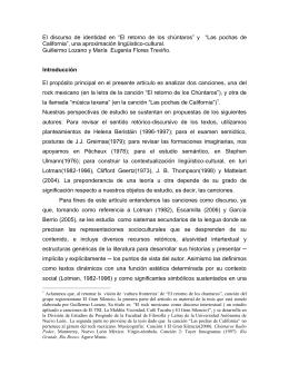 """El discurso de identidad en """"El retorno de los chúntaros"""" y """"Las"""