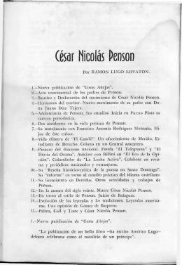 Cesar Nicolás Penson