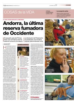 Andorra, la última reserva fumadora de Occidente