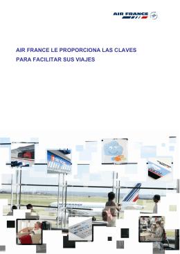 air france le proporciona las claves para facilitar sus viajes