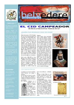 800 años del Mio Cid