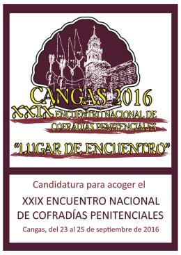 Dossier XXIX Encuentro Nacional de Cofradías Penitenciales de