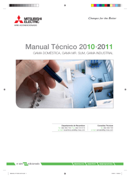 Manual Tecnico Mitsubitshi electric