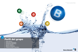 Perfil del grupo - Banco de Sabadell