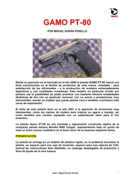 GAMO PT-80 - Mexico Armado