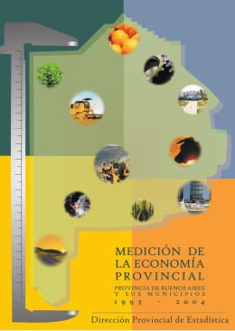 Medición económica Provincial 1993-2004