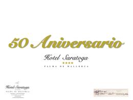 50 Aniversario - Hotel Saratoga