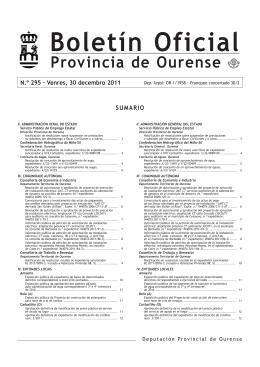 BOP 30/12/2011 - Concello de Pereiro de Aguiar